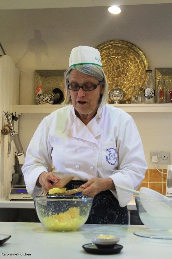 Darina Allen Butter Making