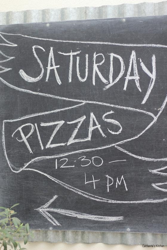 Saturday Pizzas