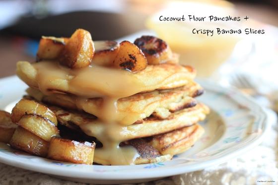 Coconut Pancakes Title